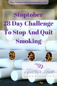Stoptober 28 Day Challenge To Stop And Quit Smoking