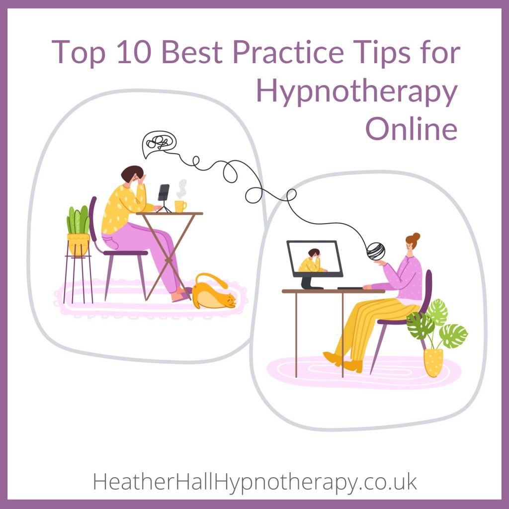 Tips for Hypnotherapy Online