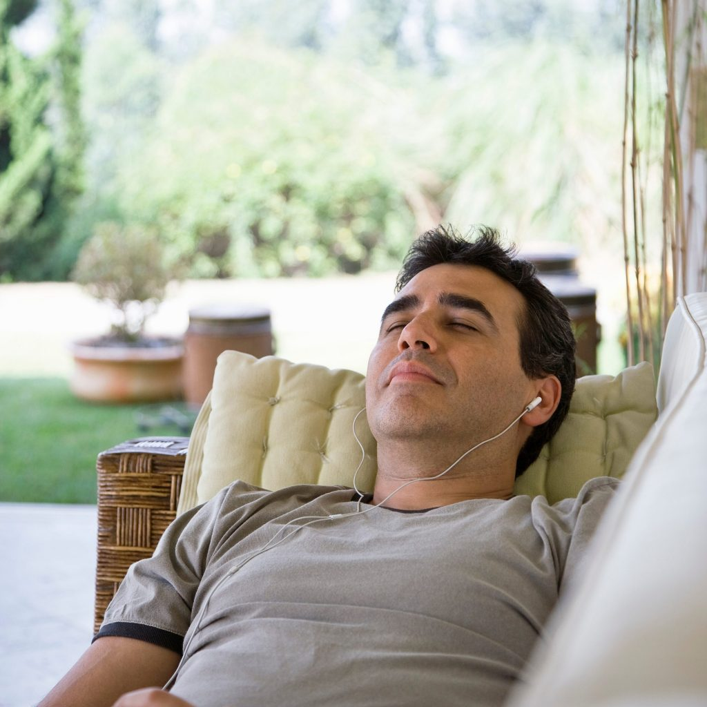 Relaxing hypnotherapy online